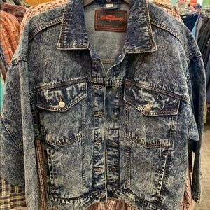 Brand New Rolling Stones Jeans Jacket
